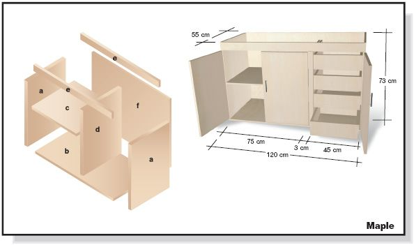 Muebles buele muebles de oficina plano de cosas en for Plano escritorio melamina