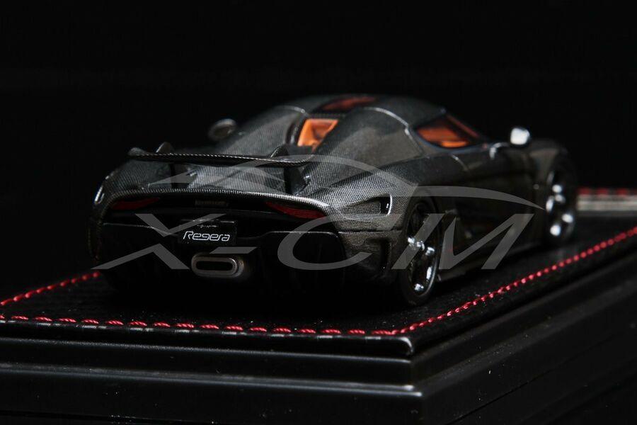 Carbon Fiber Livery SMALL GIFT!!!! Car Model SophiArt Koenigsegg Regera 1:43