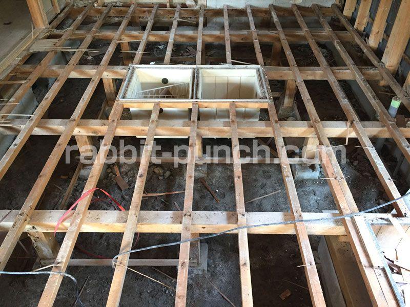 キッチンの床下収納 点検口をdiyまとめ 床下地から作る 床下収納
