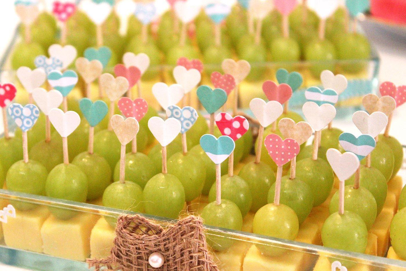 Fingerfood-Ideen zum Sektempfang für die Hochzeit | süß oder herzhaft