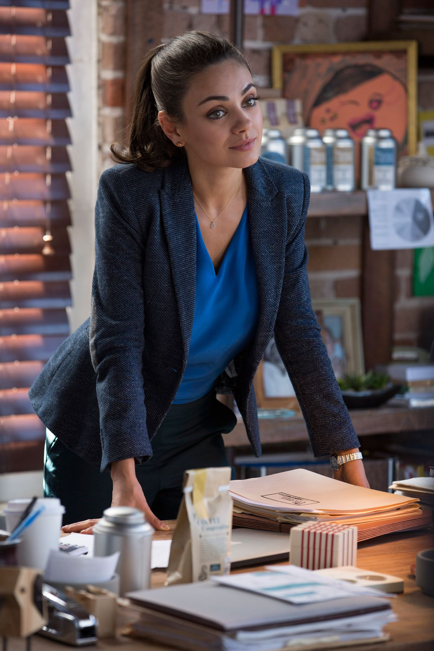 7e4358416f2e Everything You Need to Know About the Costumes in Bad Moms - Amy (Mila  Kunis) from InStyle.com