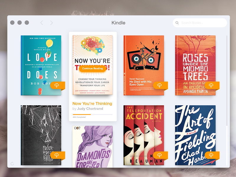 Kindle for OS X Redesign