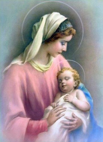 """""""Bendito seja o nosso Deus que nos deu a sua Mãe por nossa Mãe."""" (Beata Maria Maravilhas de Jesus)"""