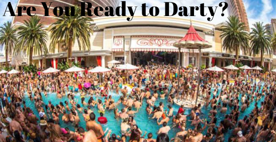 Are You Ready To Darty Vegas Pool Party Best Spring Break Destinations Vegas Pools
