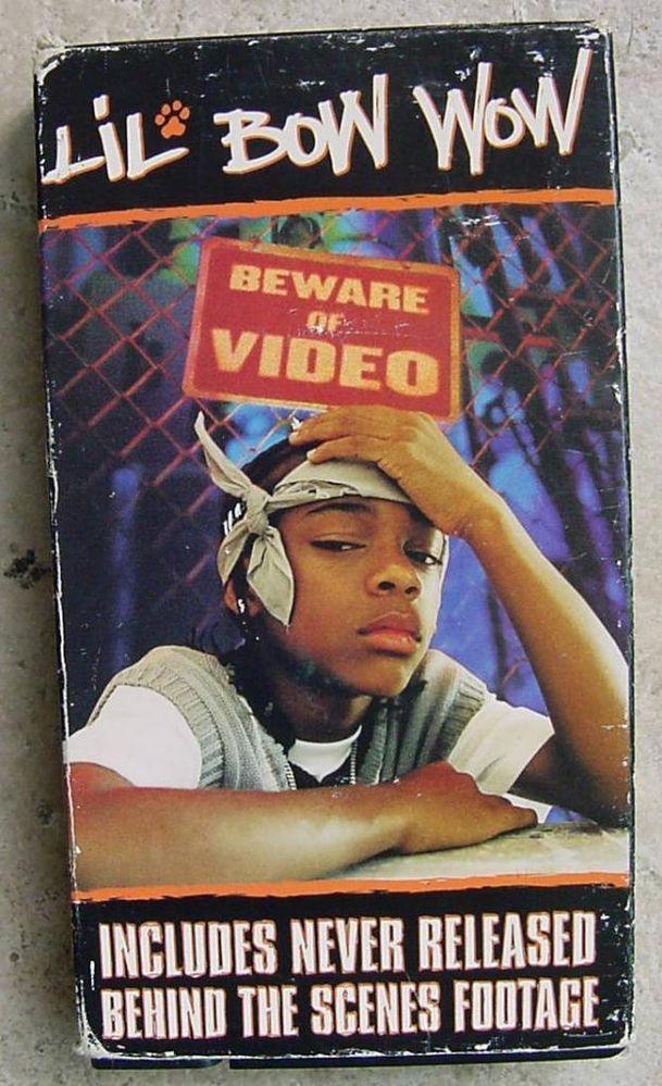 RARE LIL BOW WOW Vhs Video BEWARE OF VIDEO HIP HOP RAP MUSIC VIDEOS