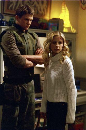 Riley & Buffy from Buffy the Vampire Slayer