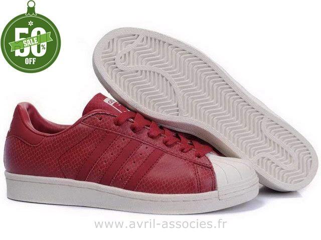 Boutique 80 Adidas adidas Atm Superstar Rouges Chaussures Hommes BEBwr1q