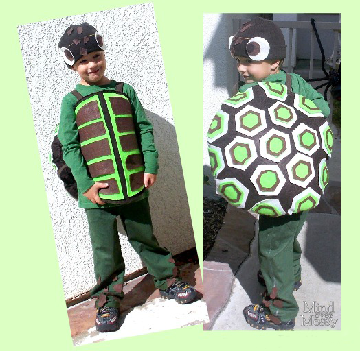 DIY Sea Turtle Costume