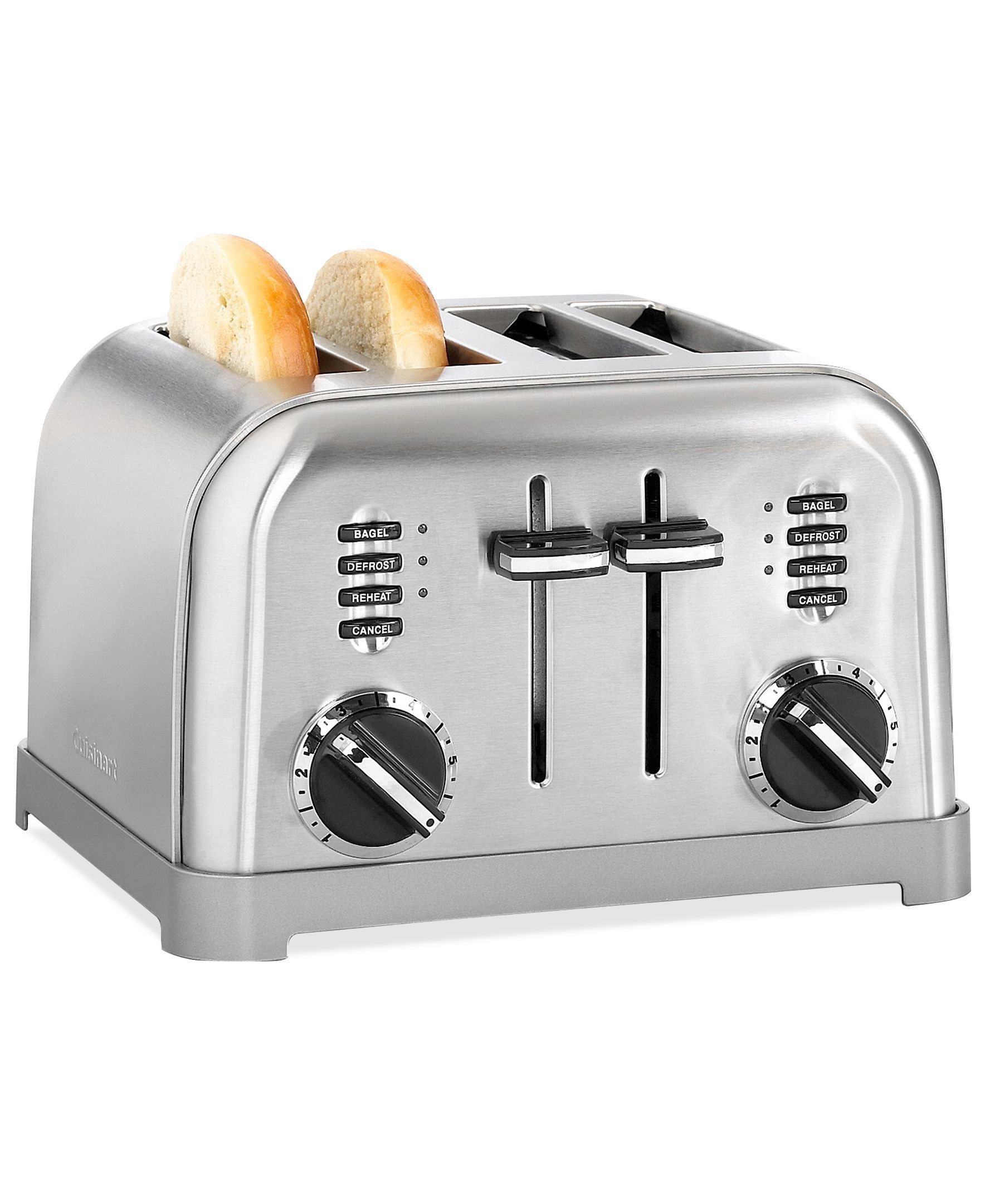 cuisinart steel toaster res metal slice classic itm ebay stainless