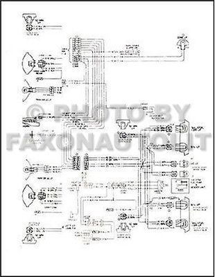 1973 chevy gmc c5 c6 conventional #wiring diagram c50 #