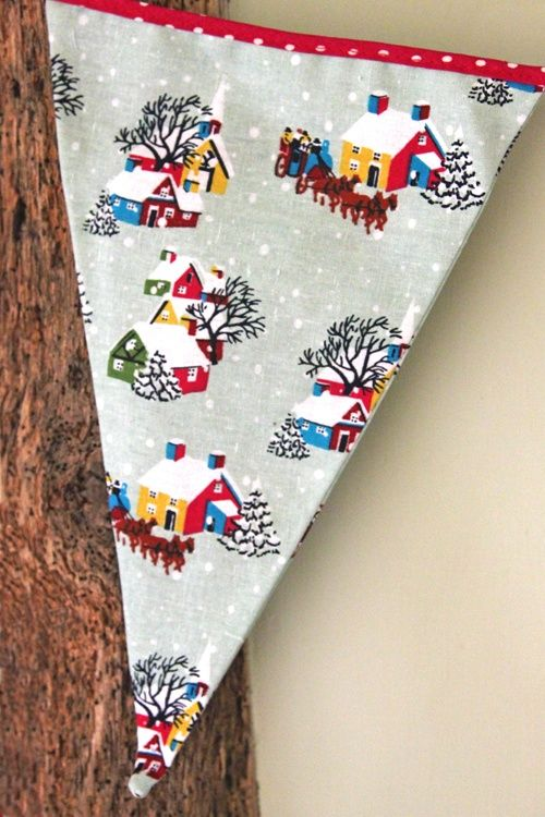 Retro Christmas Party Ideas Part - 49: Retro Christmas Bunting £12.95 - Seasonal Parties - Christmas Party Bag  Ideas, Luxury Party