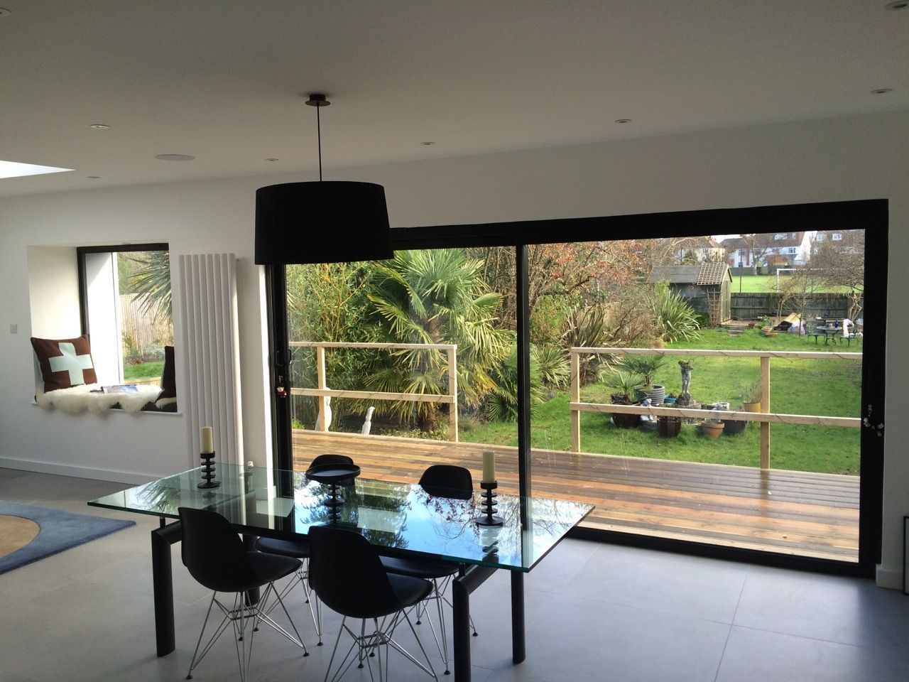Black Aluminium Sliding Patio Doors And Windows New House Ideas