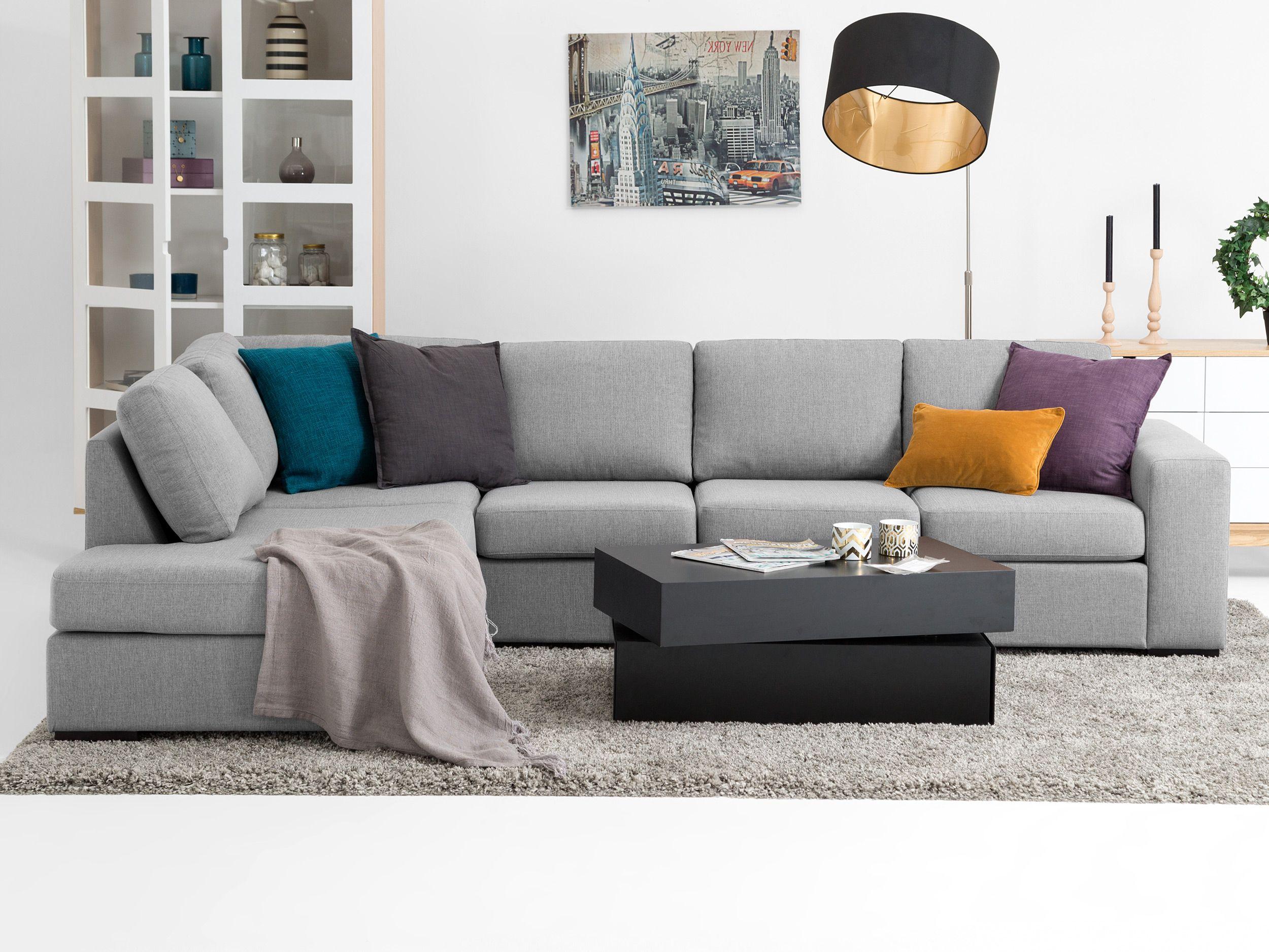 Ecksofas Design york large l sofa hellgrau ecksofas sofas für den inn