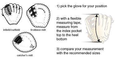 Baseball Express Baseball Glove Size Baseball Glove Baseball