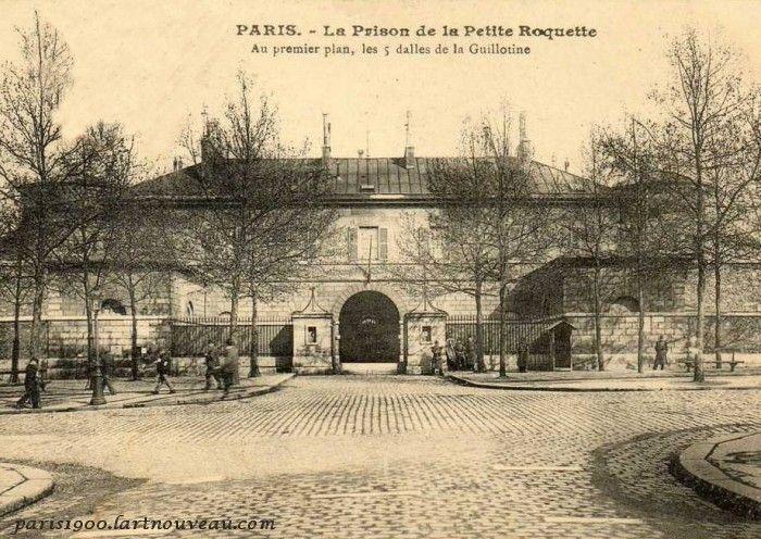Prison de la petite Roquette.