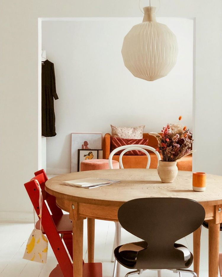 My Scandinavian Home The Colours In This Danish Home And Wardrobe Will Be Hot In 2020 My Scandinavian Home Scandinavian Home Dining Room Decor
