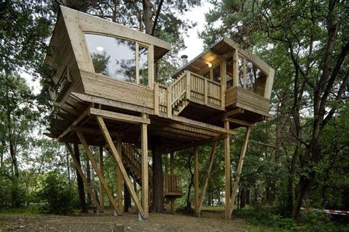 images about Tree houses on Pinterest   Tree House Designs       images about Tree houses on Pinterest   Tree House Designs  Tree Houses and Treehouse