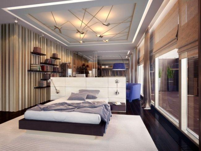 92 idées chambre à coucher moderne avec une touche design | Faux ...