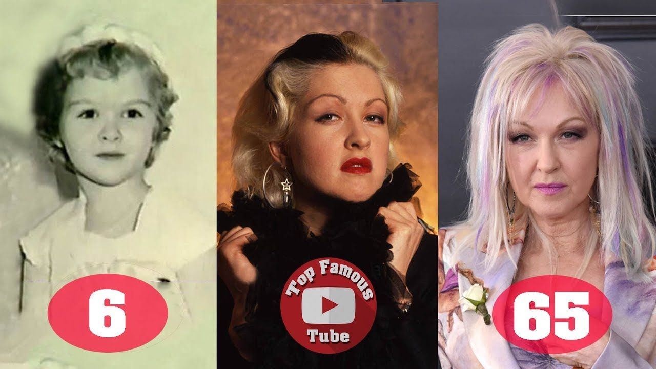 Cyndi Lauper Transformation From 4 To 65 Years Old Cyndi Lauper 65 Years Old Punk Music