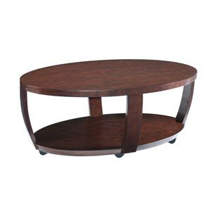 Magnussen Home T1579-47 Sotto Oval Coffee Table