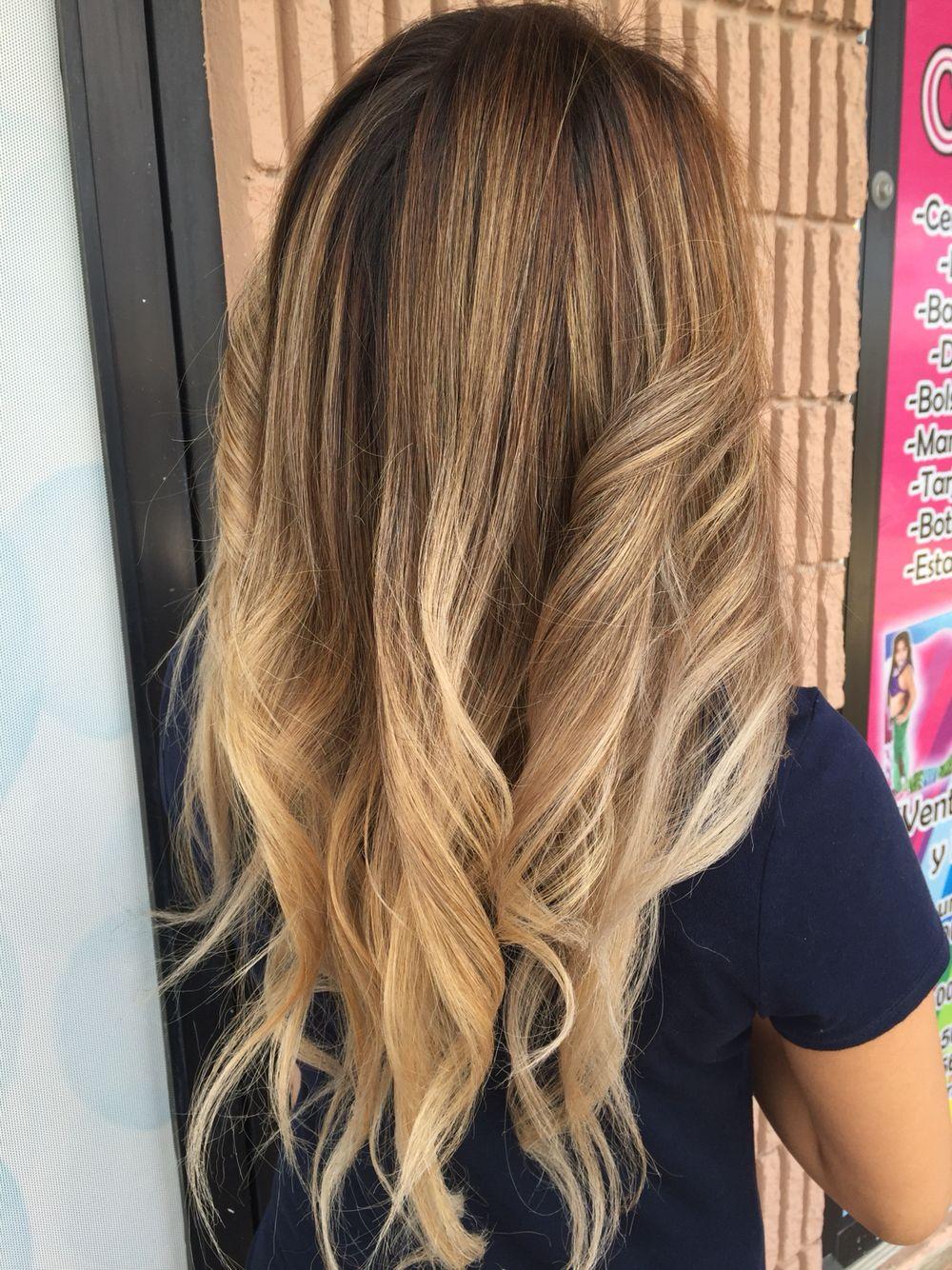 Longhairbalayage karlagomeztrueintegrity hair magic by