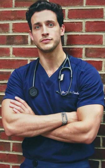 sexy boy with a doctor