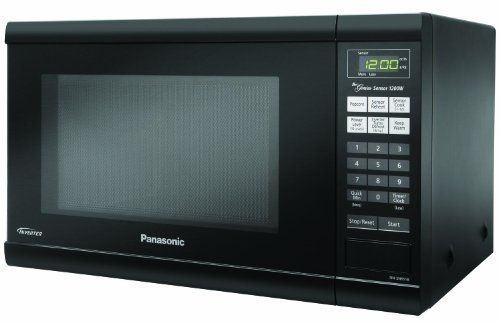 Panasonic Nn Sn651b Genius 1 2 Cuft 1200 Watt Sensor Microwave With Inverter Technology Blac Countertop Microwave Panasonic Microwave Panasonic Microwave Oven