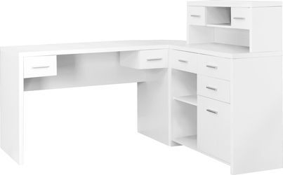Jessamin White Desk Home office decor, White desks
