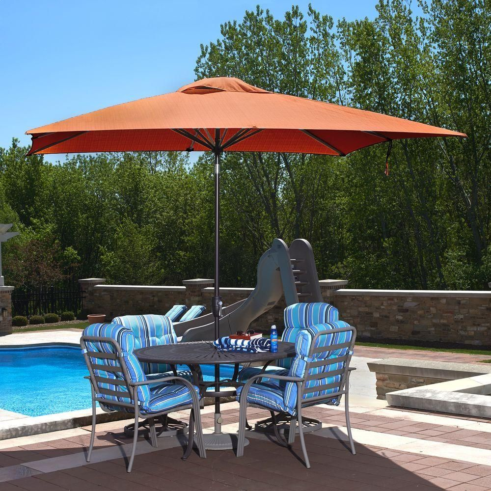 Perfect 9 Ft Rectangular Patio Umbrella