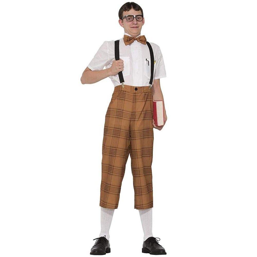 Halloween Forum Novelties Mr. Nerd Costume Adult Men