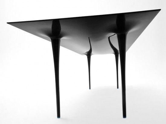 Carbon Fiber Stealth Table Modern Table Carbon Fiber Furniture