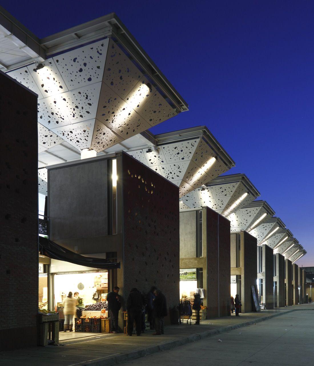 Galeria De Mercado Tirso De Molina Iglesis Prat Arquitectos 1 Arquitectura Arquitectura Comercial Edificios Modernos