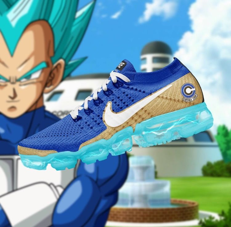 71e1d3ae821e3 Nike air vapour max x DBZ Super Saiyan God vegeta