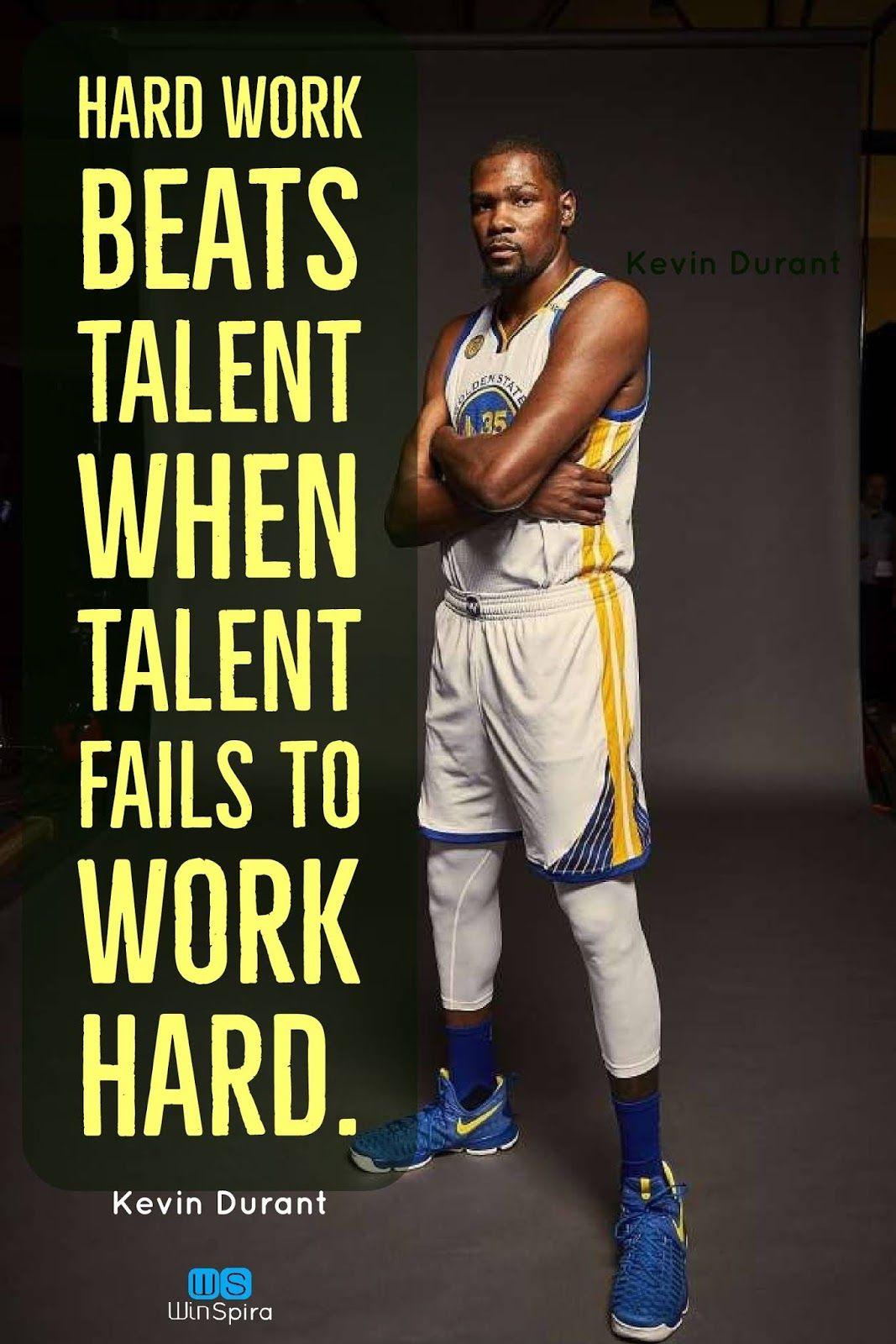 20 Inspirational Kevin Durant's Quotes Winspira Nba