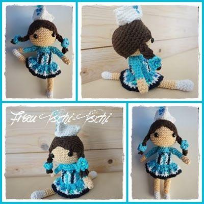 Frau Tschi-Tschi: Tanzmariechen Amigurumi Freebie (1) - crochet ...