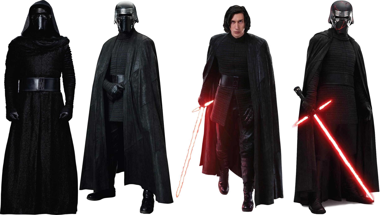 Kylo Ren S Costume Evolution From Tfa To Troshttps I Redd It F5tewuoh8gr31 Png Kylo Ren Costumes Costume Evolution Star Wars Light Saber