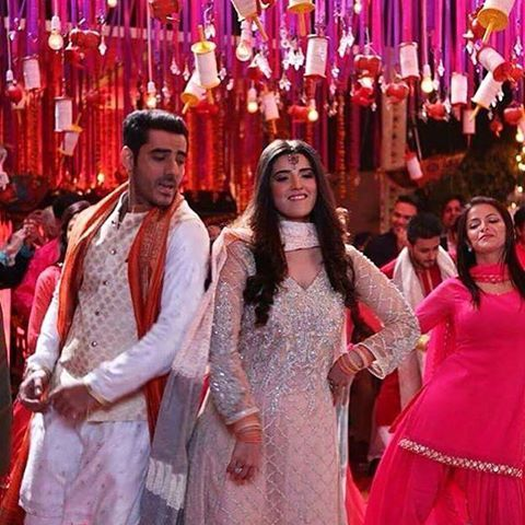 Hareem Farooq Sanam Saeed Adeel Husain Wedding Song