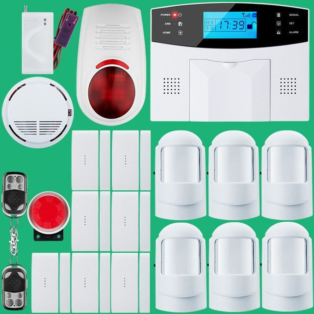 Wireless sms home gsm alarm system house intelligent diy burglar wireless sms home gsm alarm system house intelligent diy burglar security alarm solutioingenieria Images