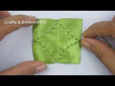 Photo of Handstickerei, Easy Ribbon Flower Making Tutorial, Ribbon Tricks