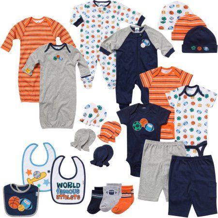 6e885cc2b Gerber Newborn Baby Boy Perfect Baby Shower Gift Layette Set