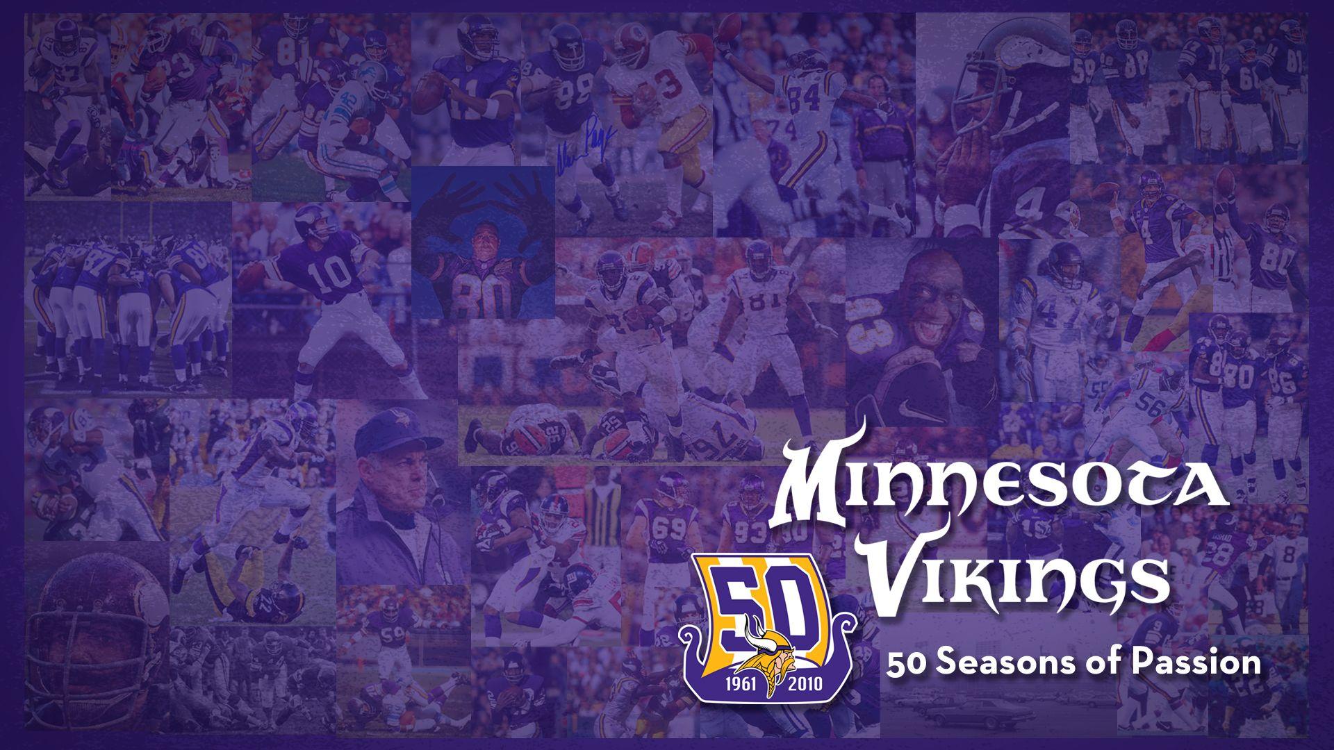 MINNESOTA VIKINGS | Minnesota Vikings: 50 Seasons of Passion 1.0 Wallpapers
