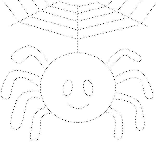 Зачарованный мир: Раскраски - обводилки с насекомыми ...
