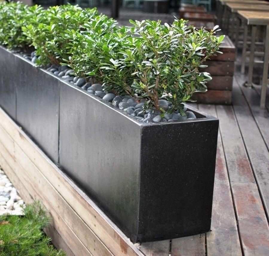 Diy Concrete Rectangular Planter — The Homy Design 640 x 480