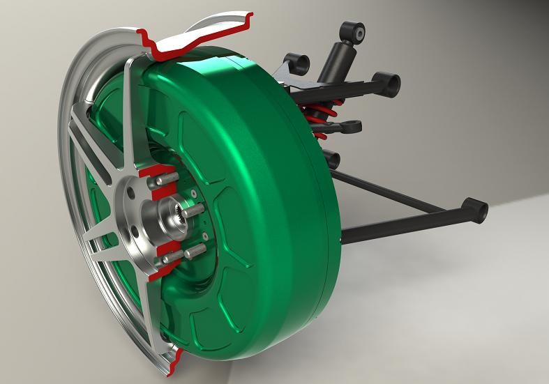 In Wheel Motor by Protean | Wheels | Electric motor for car