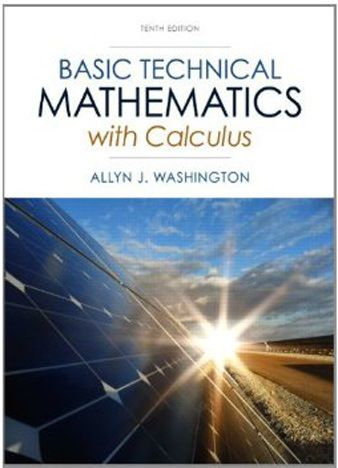 Basic Technical Mathematics With Calculus 10th Edition Pdf