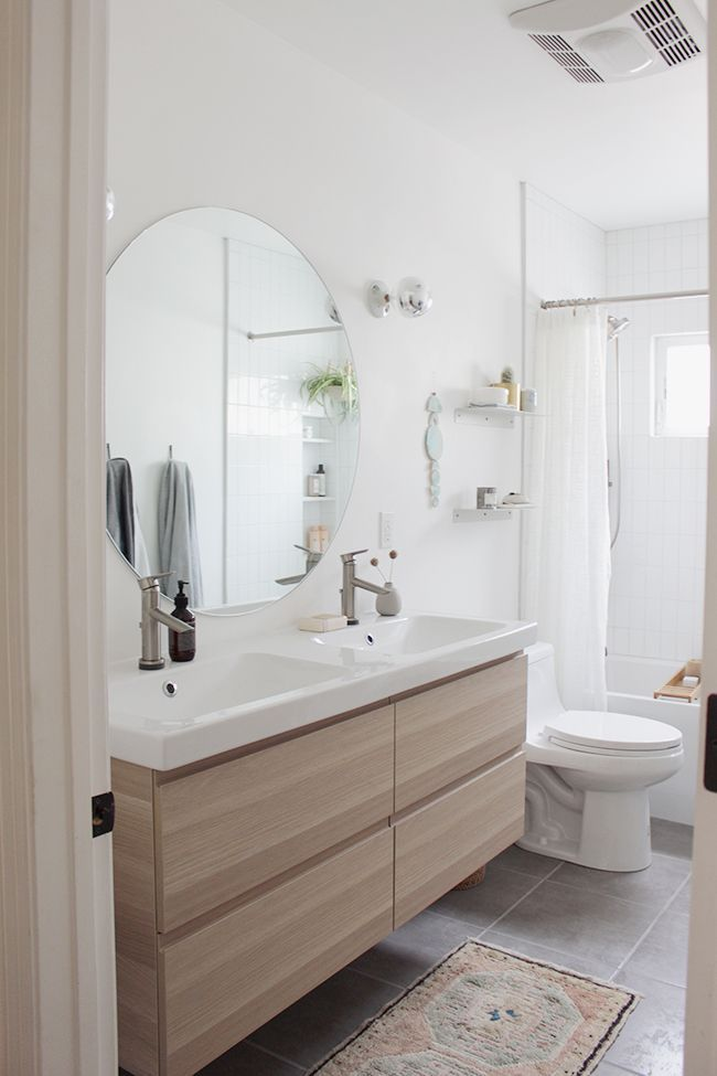 Photo of our guest bathroom : the reveal – almost makes perfect