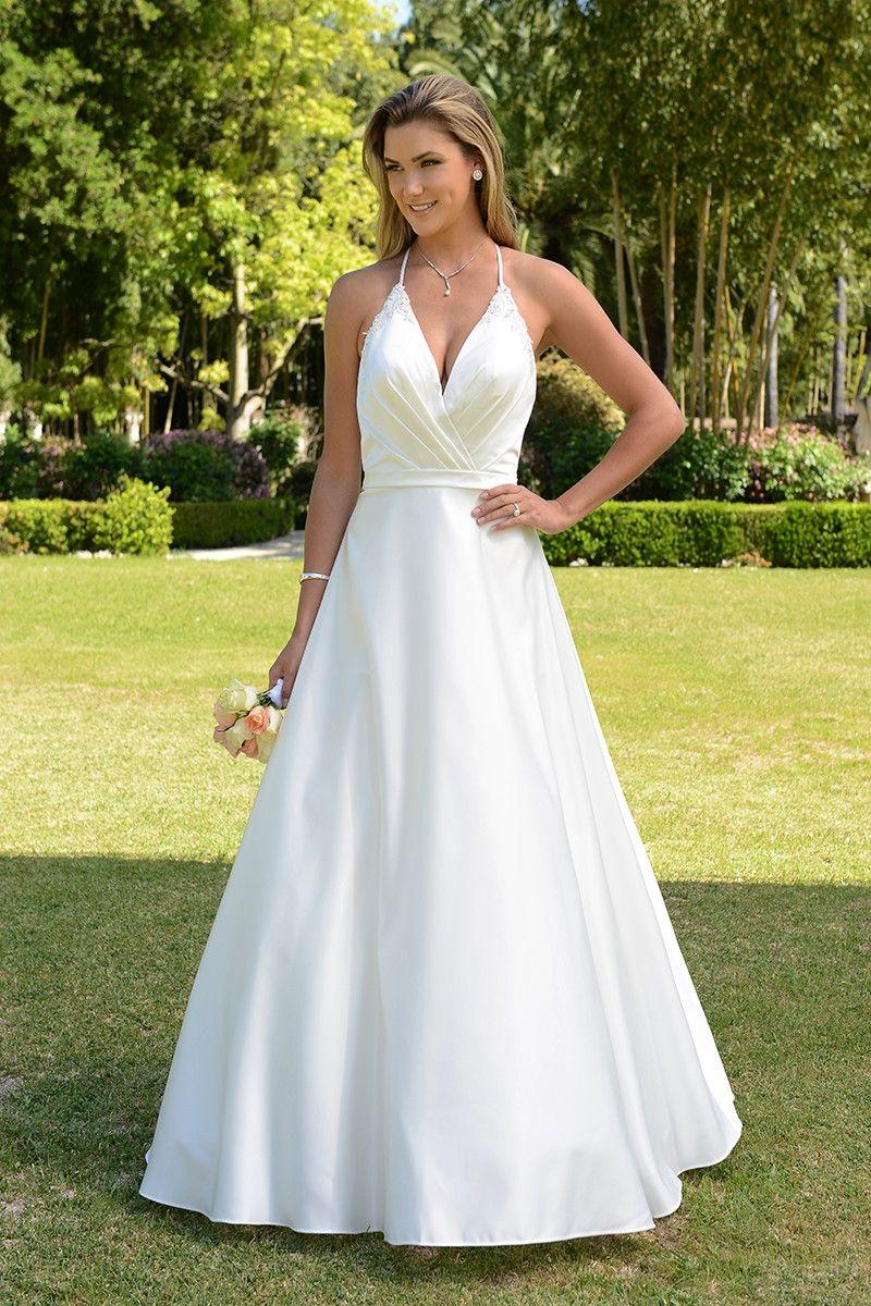 Wedding dress out of venus bridal vnvn a plunging v