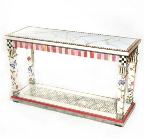 MacKenzie Childs Table #contemporaryFurniture #uniquefurniture #luxuryfurniture #designerfurniture