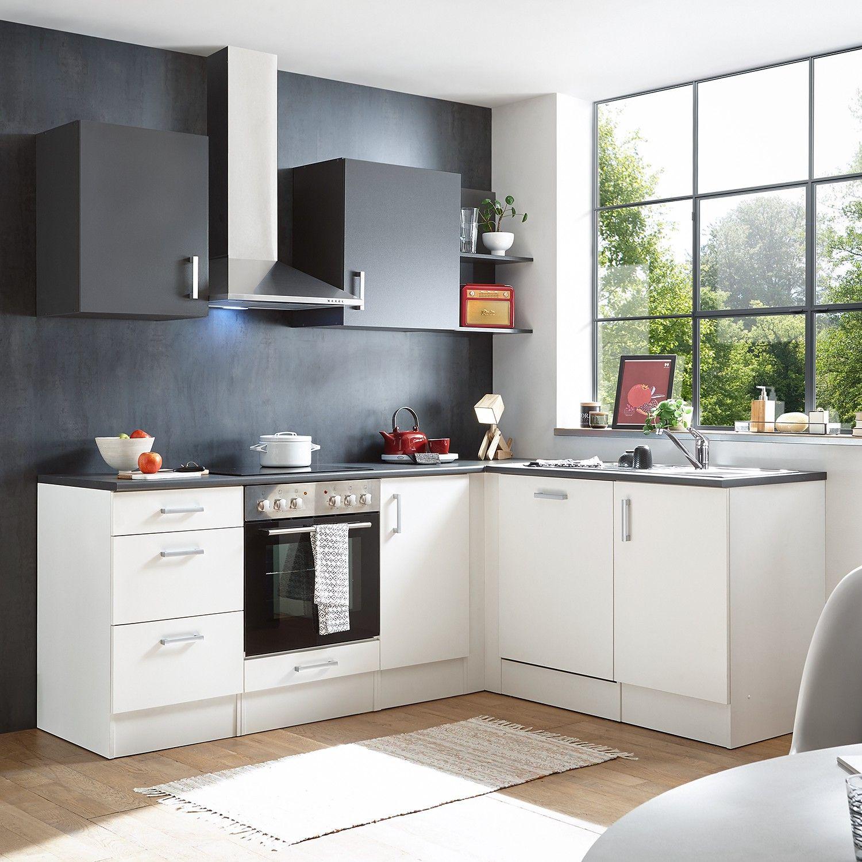 Eck Kuechenzeile Korkee I 9 Teilig Küche Block Küchenzeilen Küchenprodukte