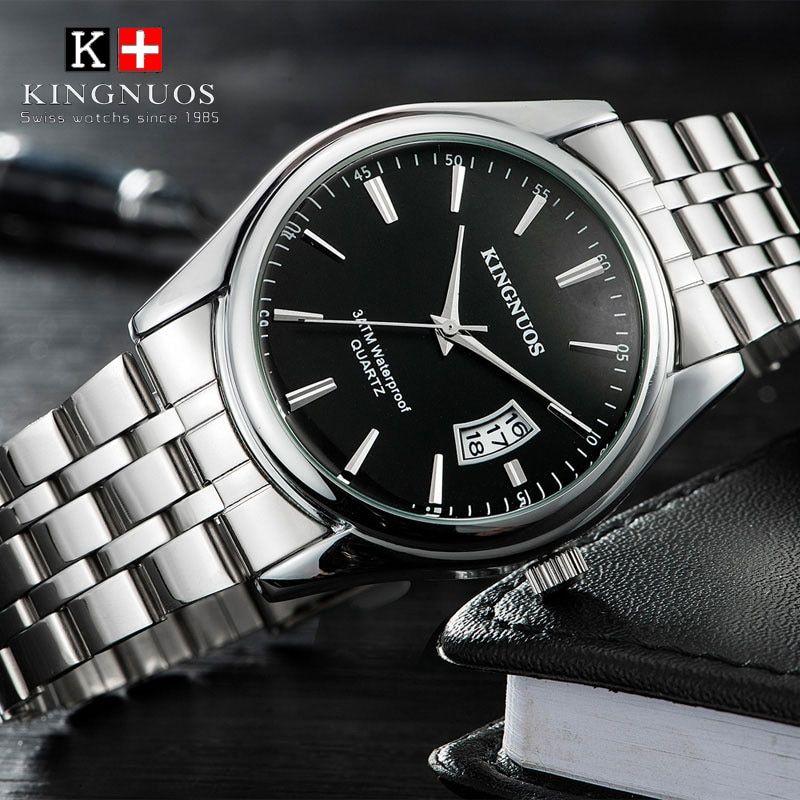 Relojes para Hombres – 2019 Top Brand Hombres de Lujo del Reloj 30 m Impermeable Fecha Reloj Hombre Relojes Deportivos Hombres Reloj de Pulsera de Cuarzo Ocasional Relogio masculino